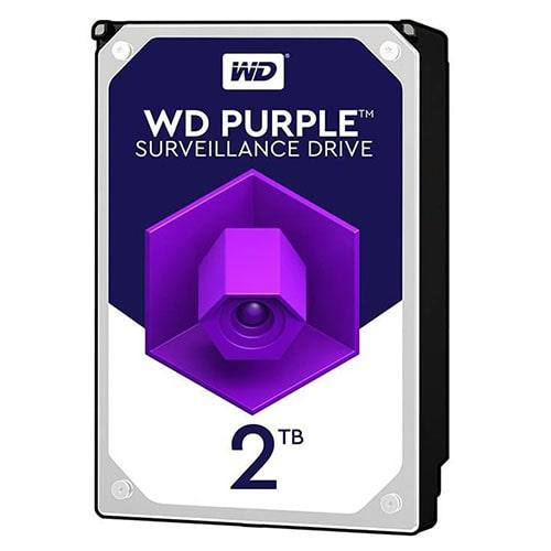 هارد دیسک اینترنال وسترن دیجیتال بنفش ظرفیت 2 ترابایت