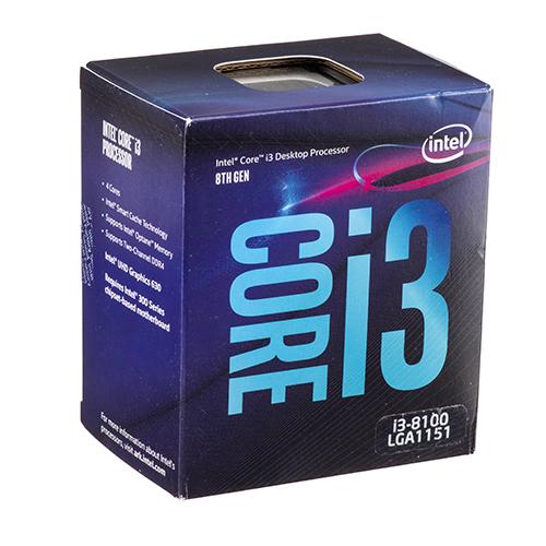 سی پی یو Intel Coffee Lake Core i3-8100