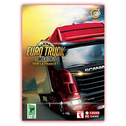 بازی کامپیوتری Euro Truck Simulator 2 Vive la France