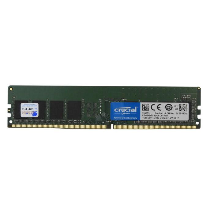 رم کامپیوتر کروشال Crucial DDR4 2400MHz ظرفیت 4GB