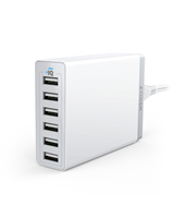 ANKER A2123L22 PowerPort 6 Port Wall Charger