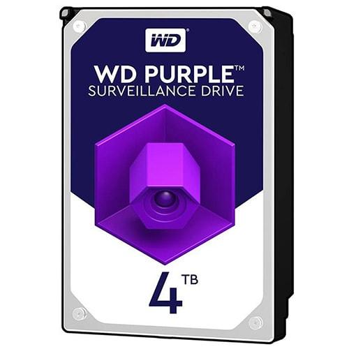 هارد دیسک اینترنال وسترن دیجیتال بنفش ظرفیت 4 ترابایت