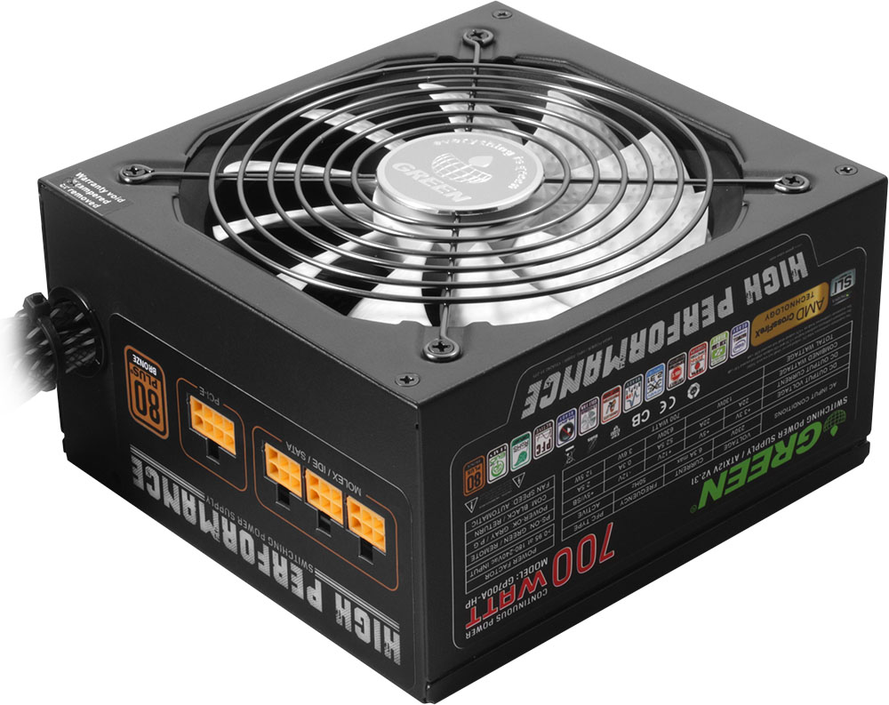 پاور Green GP700B HP Plus Power Supply