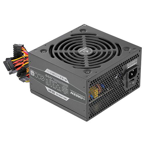 منبع تغذیه کامپیوتر گرین مدل GREEN GP350A-ECO