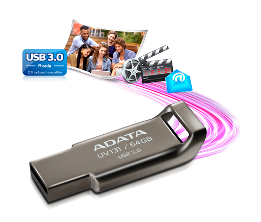 فلاش مموری ADATA UV131 Flash Memory 64GB USB 3.0