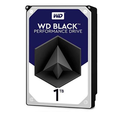 هارد دیسک اینترنال وسترن دیجیتال مشکی ظرفیت 1 ترابایت