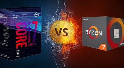نبرد بزرگ INTEL VS AMD