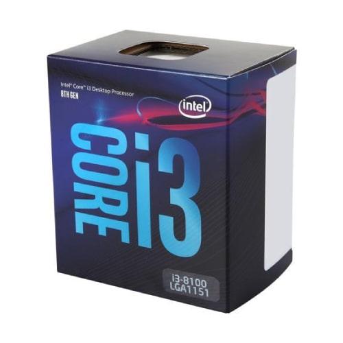 پردازنده اینتل مدل Intel Coffee Lake Core i3-8100