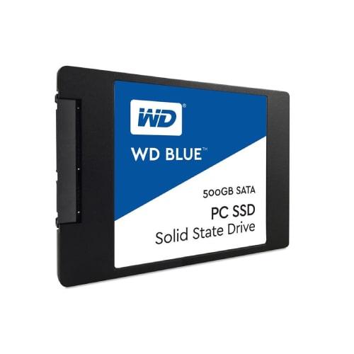 حافظه اس اس دی وسترن دیجیتال مدل Blue با ظرفیت 500 گیگابایت