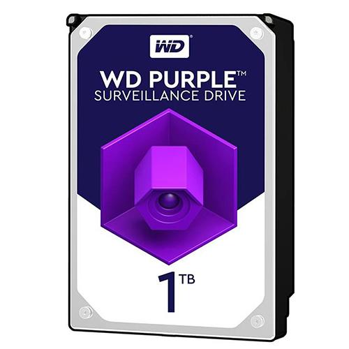 هارد دیسک اینترنال وسترن دیجیتال بنفش ظرفیت 1 ترابایت
