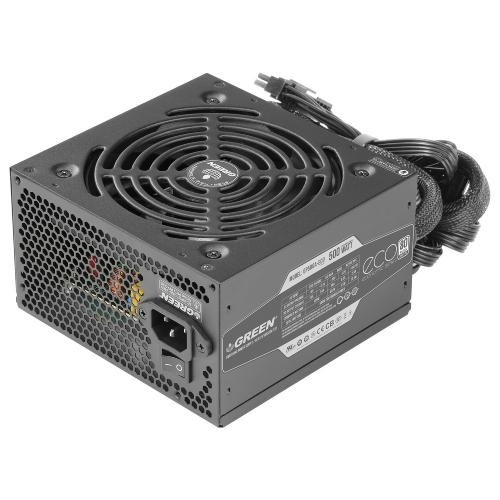 منبع تغذیه کامپیوتر گرین مدل GREEN GP500A-ECO