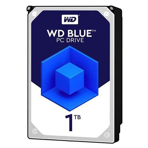 هارد دیسک اینترنال وسترن دیجیتال آبی ظرفیت 1 ترابایت