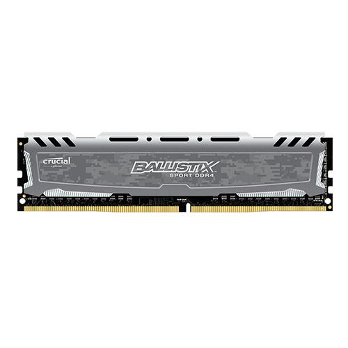 رم کامپیوتر کروشال مدل Crucial Ballistix Sport DDR4 2400MHz ظرفیت 8GB