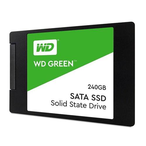 حافظه اس اس دی وسترن دیجیتال مدل گرین با ظرفیت 240 گیگابایت