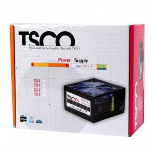 منبع تغذیه کامپیوتر تسکو مدل TSCO TP 570W