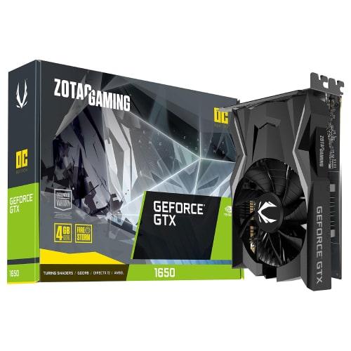 کارت گرافیک زوتک مدل ZOTAC GAMING GeForce GTX 1650 OC GDDR6 4GB