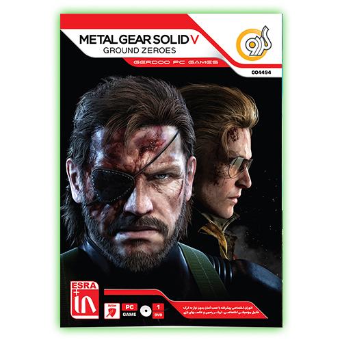 بازی کامپیوتری Metal Gear Solid V Ground Zeroes